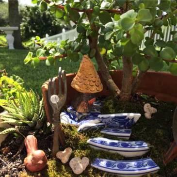 Fairy Garden and house