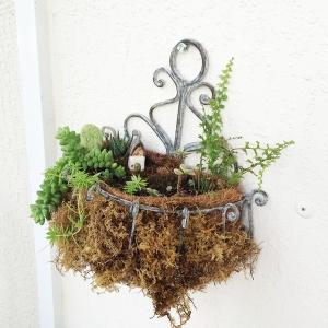 Hanging Fairy Garden