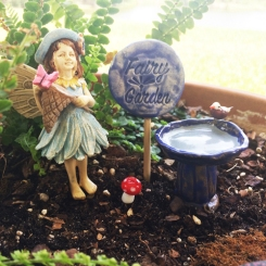 Fairy Kit with Bird Bath