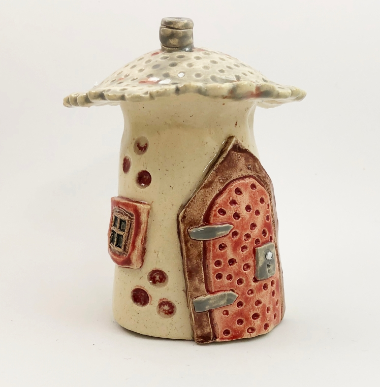 Fairy House With Polka Dots