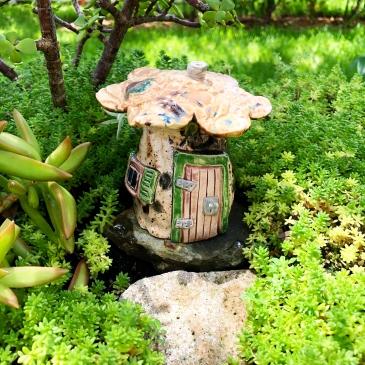 Fairy Garden Mushroom House
